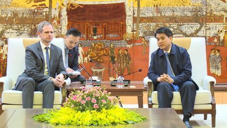 Hiệp hội doanh nghiệp Đức tại châu Á-Thái Bình Dương tìm kiếm cơ hội đầu tư tại Hà Nội