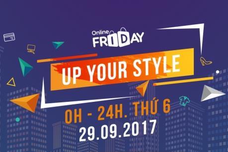 Online Friday 2017: Miễn phí chuyển phát