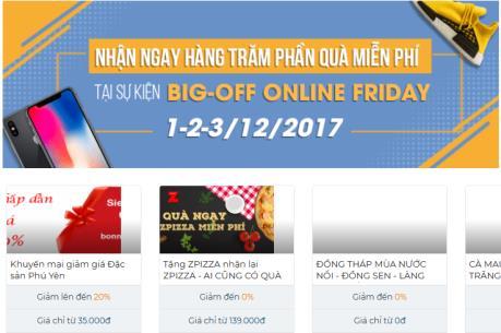 """Online Friday 2017: Không chỉ là 24 giờ vàng """"săn"""" hàng giảm giá khủng"""