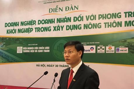 Doanh nghiệp đóng góp tích cực trong xây dựng nông thôn mới