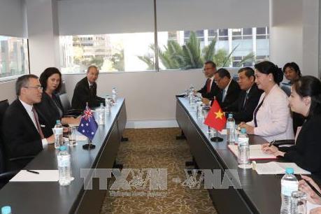 Chủ tịch Quốc hội Nguyễn Thị Kim Ngân tiếp đại diện doanh nghiệp Australia