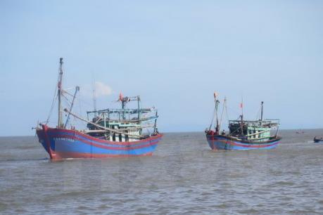 Tìm kiếm ngư dân mất tích tại Nghệ An