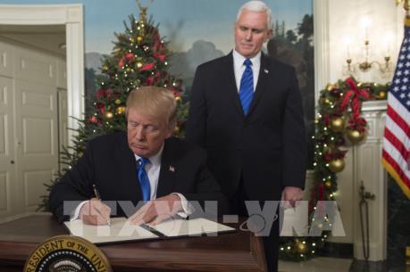 Nhiều quốc gia châu Á và châu Mỹ lên tiếng về quyết định của Mỹ đối với Jerusalem