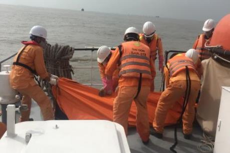Tìm thấy 2 thi thể thuyền viên tàu BV 75386 TS bị nạn tại vùng biển Vũng Tàu
