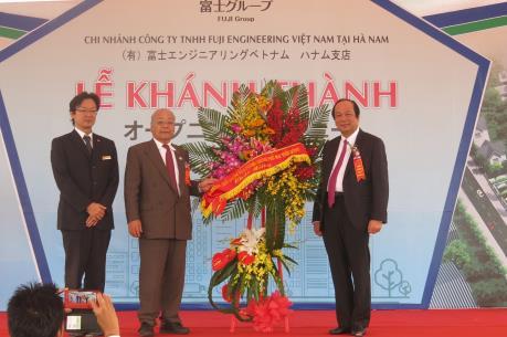 Fuji Engineering khánh thành khu chung cư cho thuê tại Hà Nam