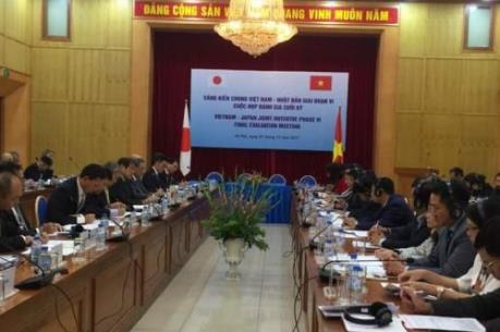 Đánh giá cuối kỳ Sáng kiến chung Việt Nam - Nhật Bản giai đoạn VI