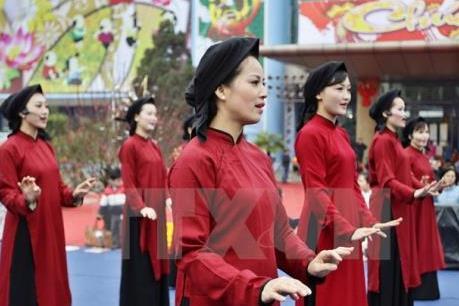 Hát Xoan được công nhận là di sản văn hóa phi vật thể đại diện nhân loại