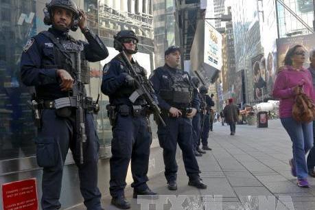 Bắt giữ một nghi phạm trong vụ nổ gần Quảng trường Thời đại
