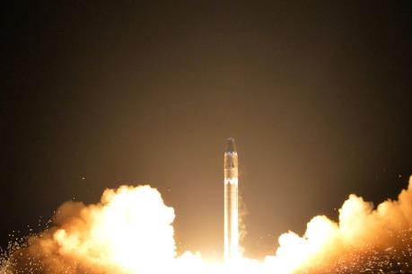Mỹ sẵn sàng đối phó với trường hợp Triều Tiên phóng tên lửa từ tàu ngầm