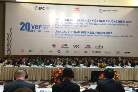 VBF 2017: Đồng hành cùng cộng đồng doanh nghiệp