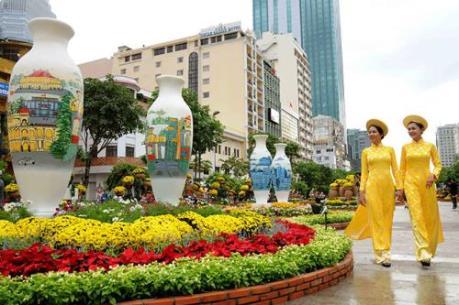 Sắp diễn ra Đường hoa Tết Mậu Tuất 2018 tại Thành phố Hồ Chí Minh