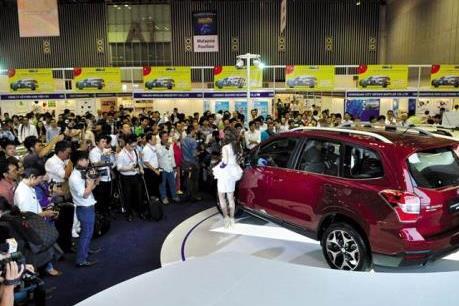 Hơn 300 doanh nghiệp tham gia Triển lãm quốc tế ô tô, xe máy, xe đạp điện