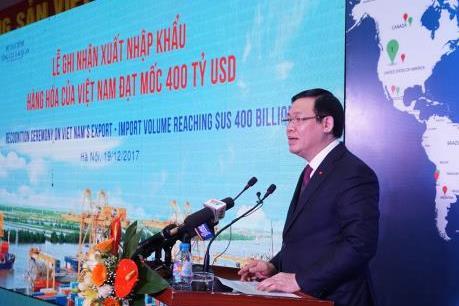 Tổng kim ngạch xuất nhập khẩu hàng hóa của Việt Nam tăng gấp 4 lần