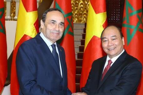 Thủ tướng Nguyễn Xuân Phúc tiếp Chủ tịch Hạ viện Marocco
