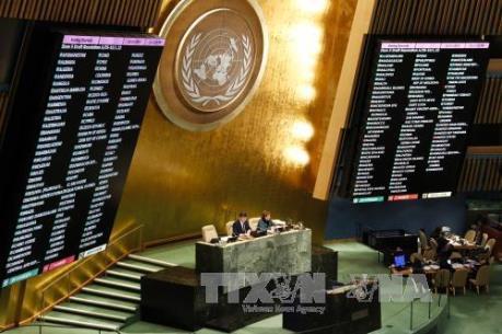 Đại hội đồng Liên hợp quốc họp phiên bất thường về vấn đề Jerusalem