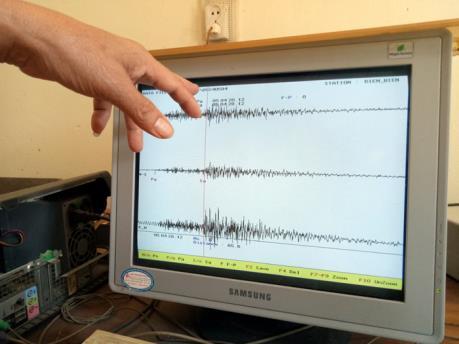 Động đất ở khu vực biên giới Việt Nam - Lào