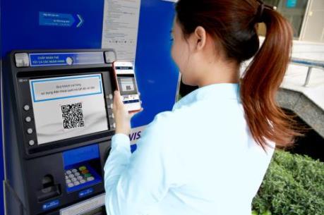Sacombank thêm chức năng rút tiền nhanh bằng QR tại ATM
