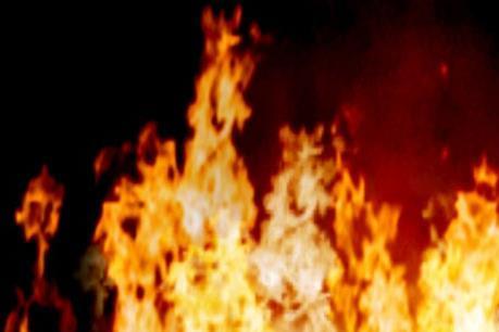 Cháy kho thành phẩm của công ty chế biến mủ cao su