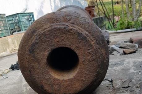 Phát hiện súng thần công cổ trên 200 năm ở đảo Quan Lạn, Quảng Ninh