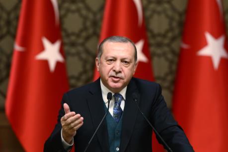 Tổng thống Thổ Nhĩ Kỳ muốn cải thiện quan hệ với Đức và EU trong năm 2018