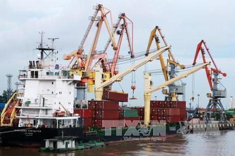 Cảng Hải Phòng sẽ đồng loạt đón mã hàng tại 3 bến cảng lúc 0 giờ ngày 1/1/2018