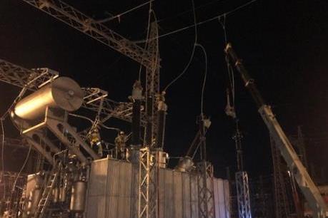 Đóng điện thành công Trạm biến áp 220kV Tháp Chàm (máy 2)