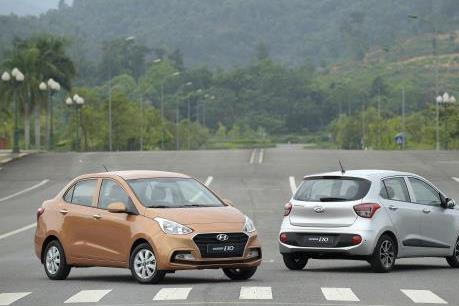 Hyundai Grand i10 mới chính thức là mẫu xe bán chạy nhất thị trường ô tô Việt Nam