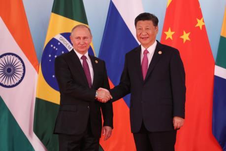 Dấu hiệu về một liên minh Nga-Trung?