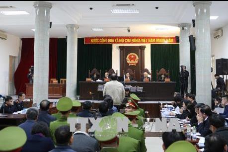 Phiên tòa xét xử Trịnh Xuân Thanh: Trịnh Xuân Thanh phủ nhận hành vi tham ô tài sản