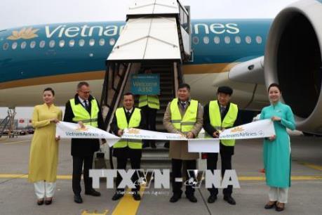 Vietnam Airlines tăng tần suất chuyến bay thẳng Việt Nam-Đức