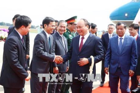 Thủ tướng Nguyễn Xuân Phúc tham dự Hội nghị Cấp cao Hợp tác Mekong-Lan Thương