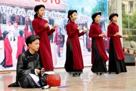 Ngày 3/2, đón bằng công nhận hát Xoan là Di sản văn hóa phi vật thể đại diện của nhân loại