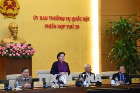 Ủy ban Thường vụ Quốc hội cho ý kiến dự án Luật An ninh mạng và Luật Quốc phòng (sửa đổi)