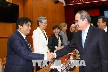 Thúc đẩy hợp tác giữa Tp. Hồ Chí Minh với Liên minh châu Âu