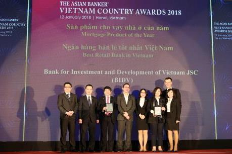 BIDV trở thành Ngân hàng Bán lẻ tốt nhất Việt Nam 4 năm liên tiếp