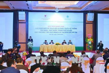 Phát triển Hà Nội theo hướng đô thị xanh