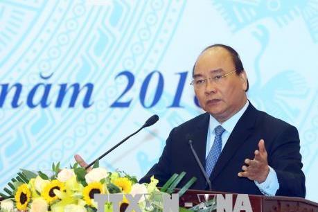Thủ tướng Nguyễn Xuân Phúc dự và chỉ đạo Hội nghị tổng kết Bộ Kế hoạch và Đầu tư