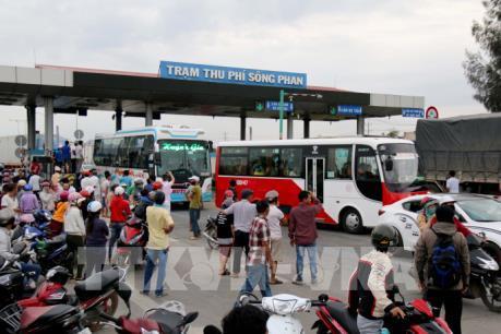Từ ngày 16/1, giảm giá vé cho các phương tiện khu vực gần Trạm BOT Sông Phan