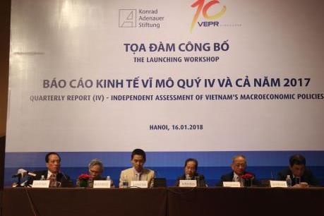 VEPR chỉ rõ 3 lực cản cho tăng trưởng năm 2018