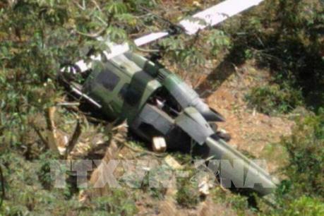 Colombia: Rơi máy bay quân sự, ít nhất 7 người thiệt mạng