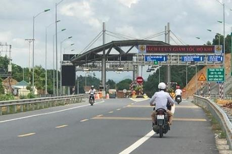 Từ 25/1 chính thức thu phí đường bộ dự án Thái Nguyên - Chợ Mới