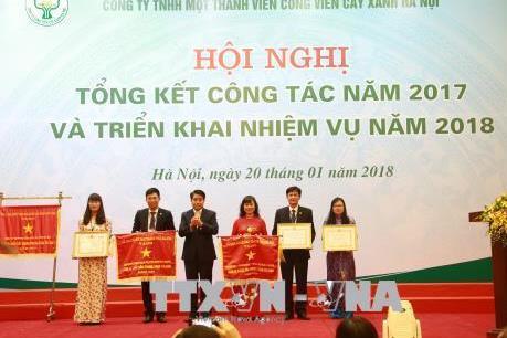 Nghiên cứu áp dụng công nghệ 3D để trồng và quản lý cây xanh ở Hà Nội