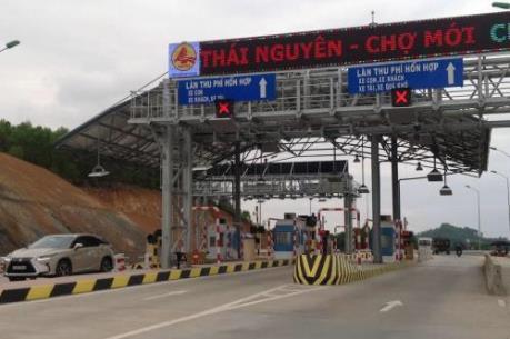 BOT Thái Nguyên - Chợ Mới chính thức thu phí