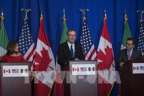 Bắt đầu vòng 7 tái đàm phán NAFTA