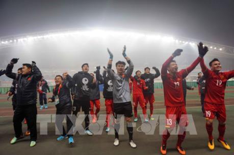 Đội tuyển U23 Việt Nam xây đắp ước mơ vươn tầm thế giới