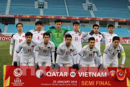 """Vòng chung kết U23 châu Á 2018: Người hâm mộ """"cháy hết mình"""" cùng đội tuyển U23 Việt Nam"""