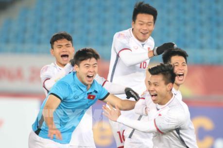 """""""Bão"""" giảm giá, khuyến mại chúc mừng U23 Việt Nam đang tăng mạnh"""