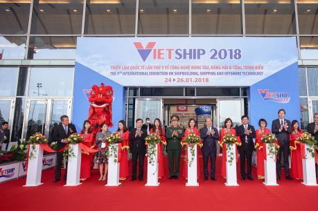 Triển lãm Vietship 2018 thu hút nhiều doanh nghiệp nước ngoài tham gia