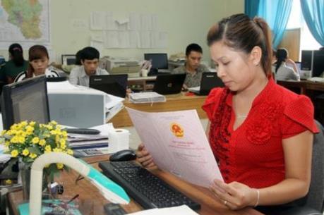 Ứng dụng công nghệ thông tin tại văn phòng đăng ký đất đai còn hạn chế