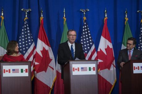 """Mexico, Canada bày tỏ quan điểm """"linh hoạt"""" trong tái đàm phán NAFTA"""